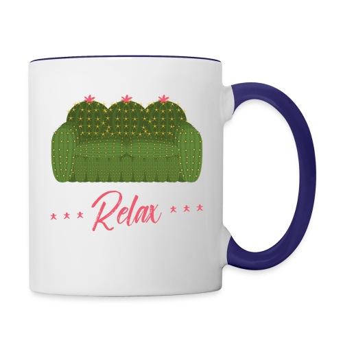 Relax! - Contrast Coffee Mug