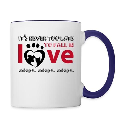 adpot - Contrast Coffee Mug