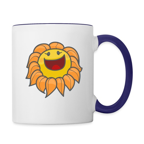 Happy sunflower - Contrast Coffee Mug