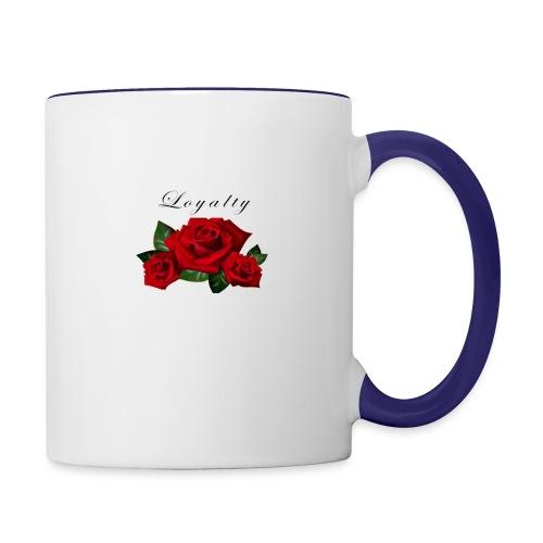 rose shirt - Contrast Coffee Mug