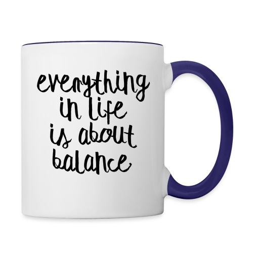 Balance - Contrast Coffee Mug