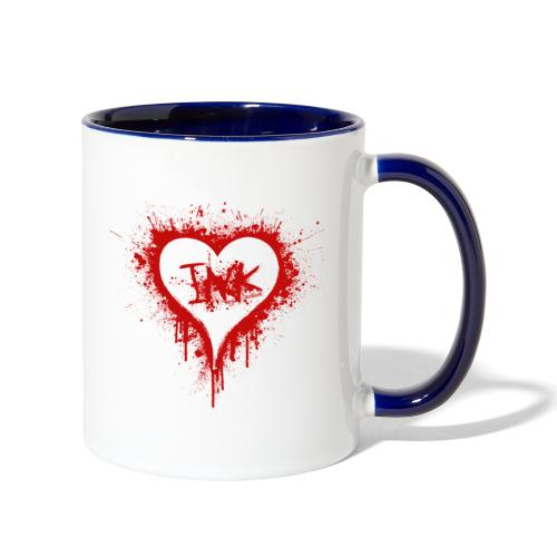 I Love Ink_red - Contrast Coffee Mug
