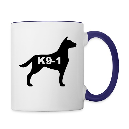 k9-1 Logo Large - Contrast Coffee Mug