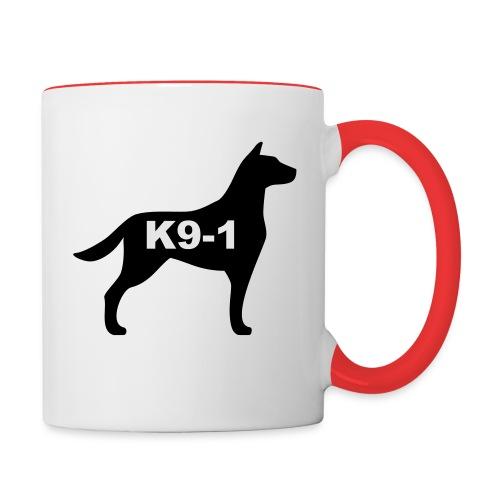k9-1 Logo Large - Contrast Coffee Mug