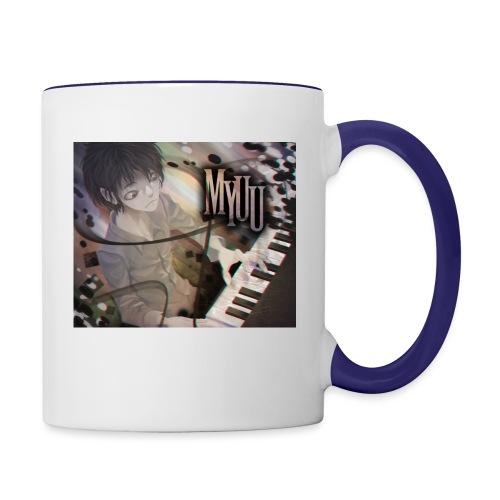 Dark Piano 1 - Contrast Coffee Mug
