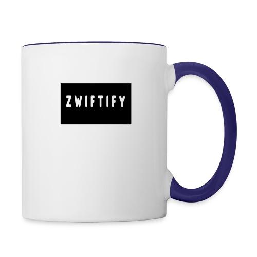 zwiftify - Contrast Coffee Mug