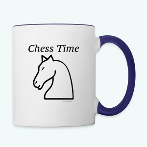 chesstim1_bw2 - Contrast Coffee Mug