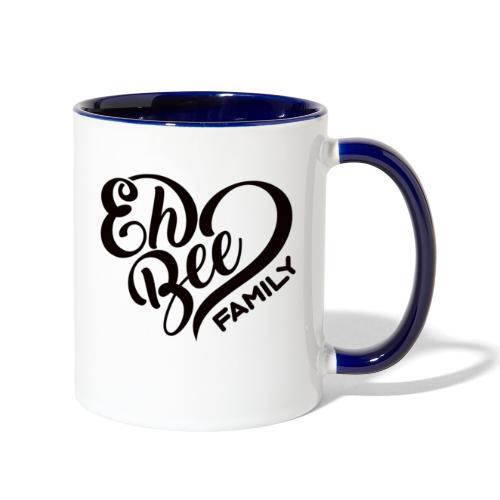 EhBeeBlackLRG - Contrast Coffee Mug