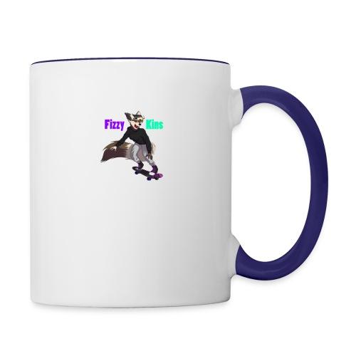 FizzyKins Design #1 - Contrast Coffee Mug