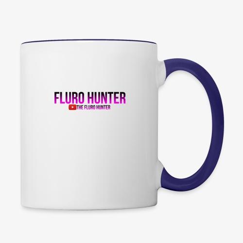 The Fluro Hunter Black And Purple Gradient - Contrast Coffee Mug