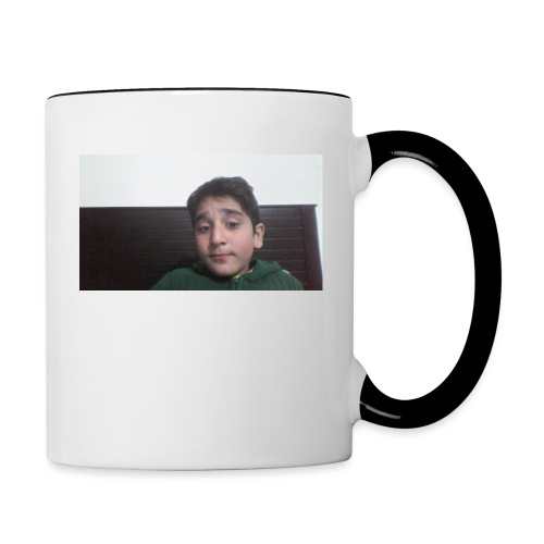 Dont Think Just BUY - Contrast Coffee Mug