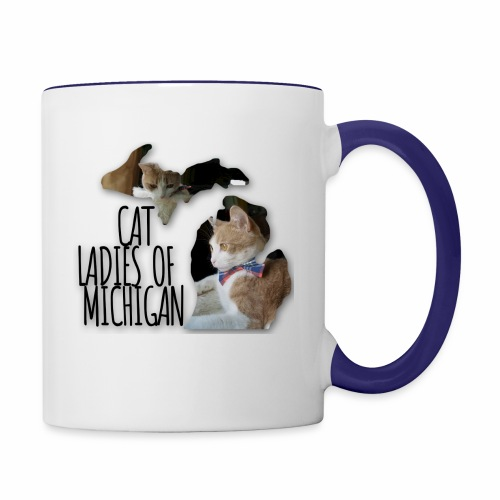 Cat Ladies of Michigan - Contrast Coffee Mug