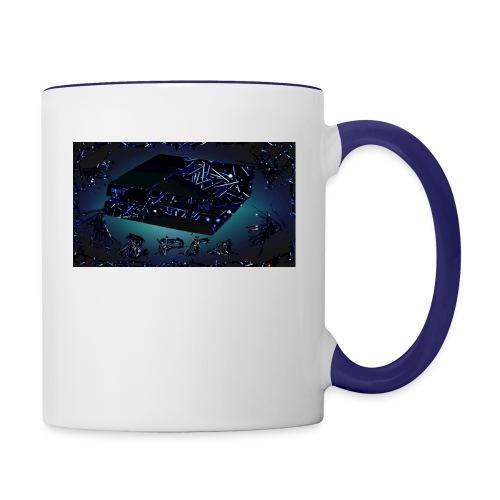 ps4 back grownd - Contrast Coffee Mug