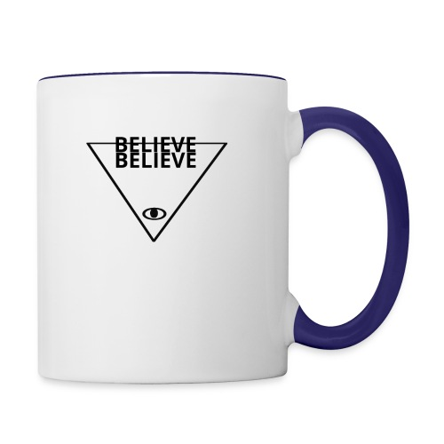 BELIEVE - Contrast Coffee Mug