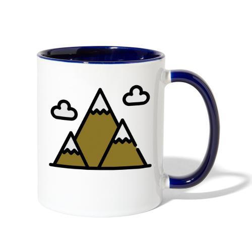 The Mountains - Contrast Coffee Mug