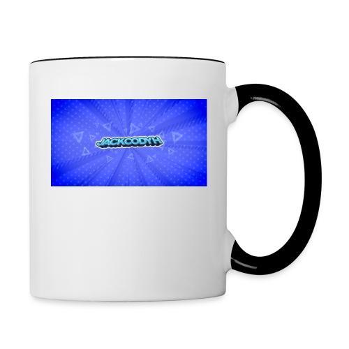 JackCodyH logo - Contrast Coffee Mug