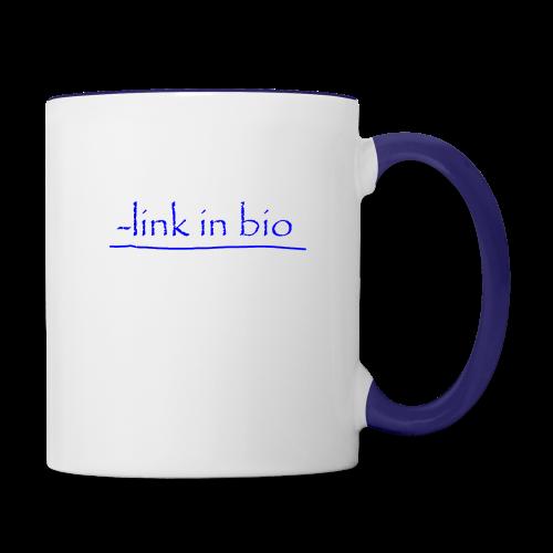 Link In Bio - Contrast Coffee Mug