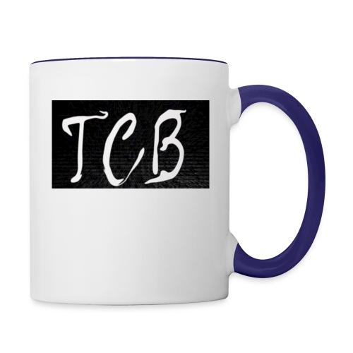 The Crazy Bros flag - Contrast Coffee Mug