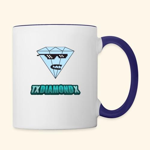 Txdiamondx Diamond Guy Logo - Contrast Coffee Mug