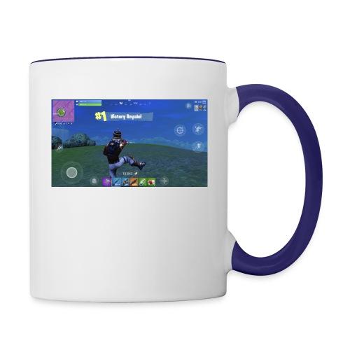 My First Win! - Contrast Coffee Mug