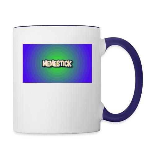 memestick symbol - Contrast Coffee Mug