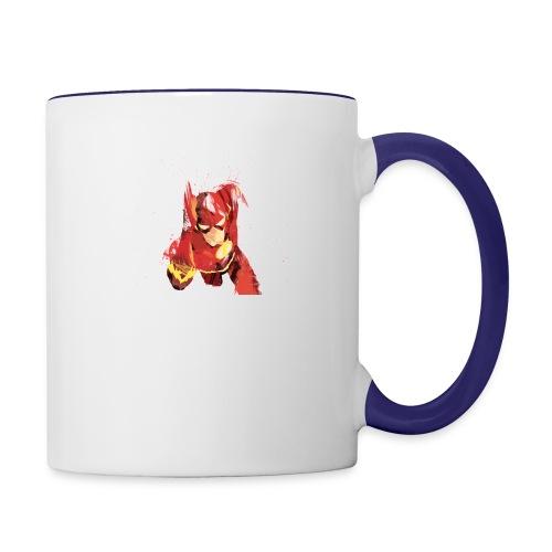 THE FLASH T-SHIRTS - Contrast Coffee Mug