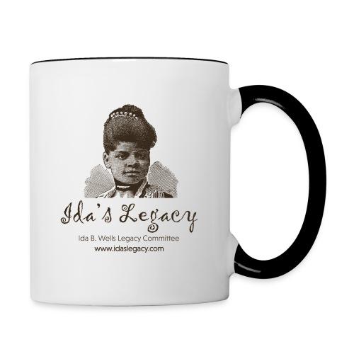 Ida's Legacy One Color Art - Contrast Coffee Mug