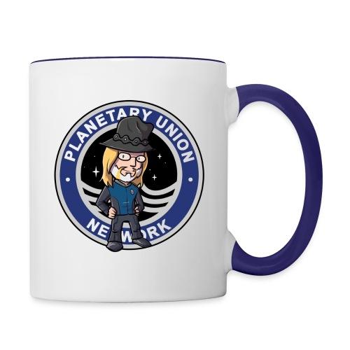 Planetary Union Network Cup of Michael - Contrast Coffee Mug