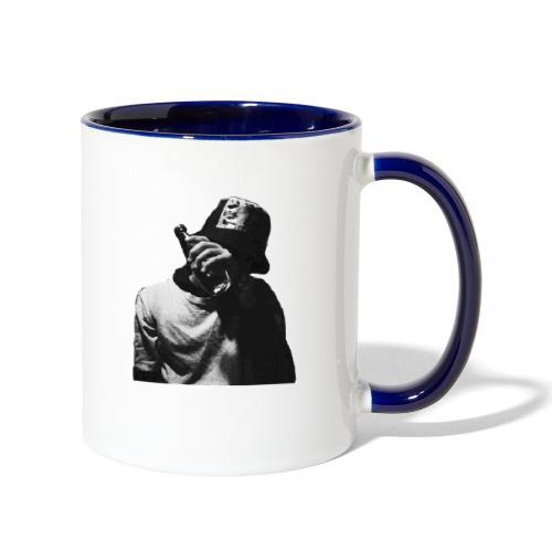 Drunken dude - Contrast Coffee Mug