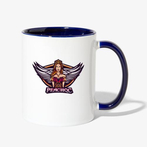 PeachQc Logo - Contrast Coffee Mug