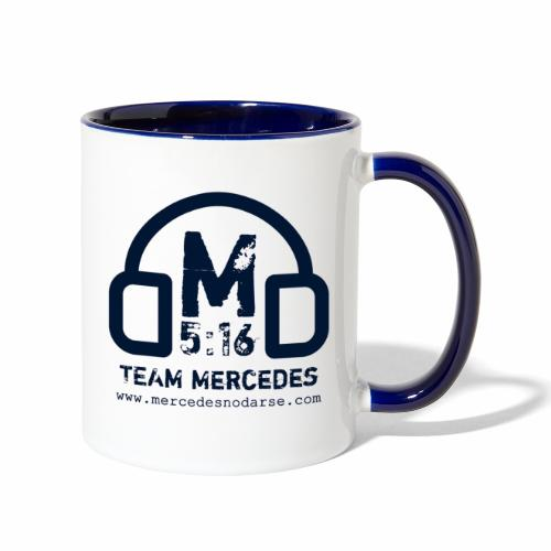 Team Mercedes - Contrast Coffee Mug