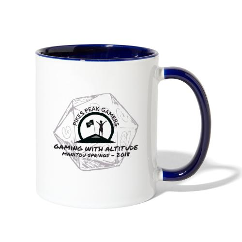Pikes Peak Gamers Convention 2018 - Accessories - Contrast Coffee Mug