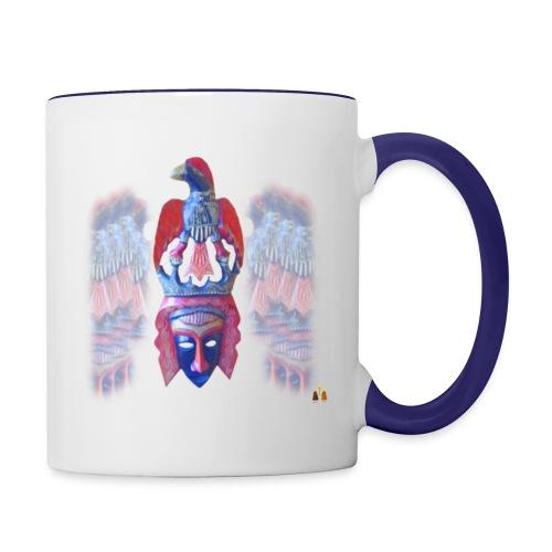 Acro Aztec - Contrast Coffee Mug
