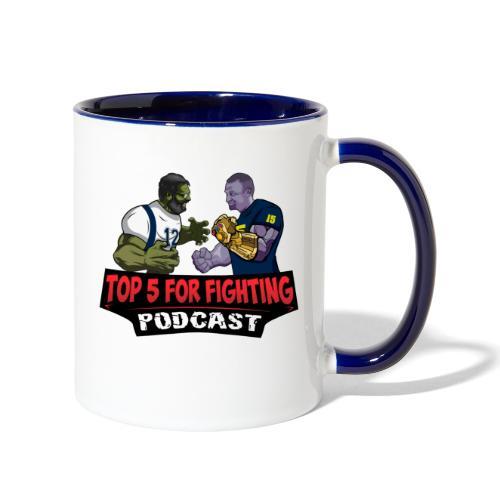 Top 5 for Fighting Logo - Contrast Coffee Mug
