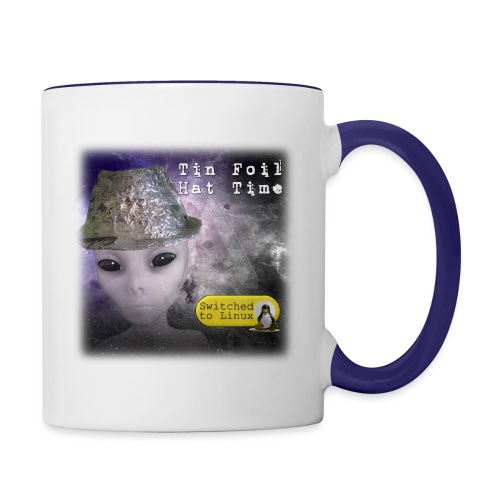 Tin Foil Hat Time (Space) - Contrast Coffee Mug