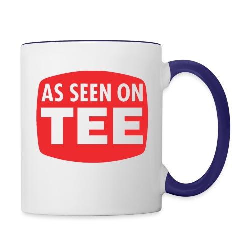 As Seen On Tee - Contrast Coffee Mug