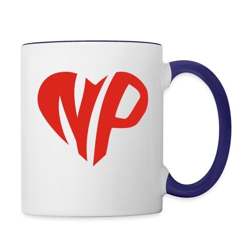 np heart - Contrast Coffee Mug