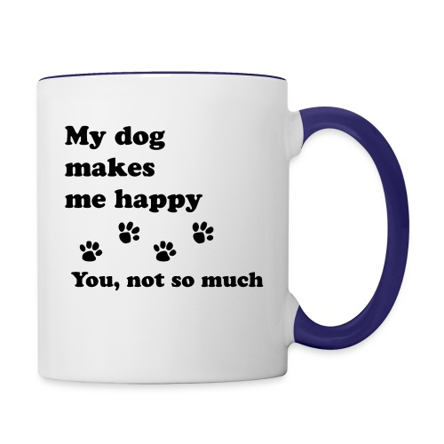 love dog 2 - Contrast Coffee Mug