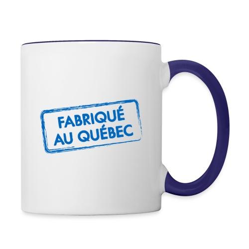 Fabriqué au Québec - Contrast Coffee Mug