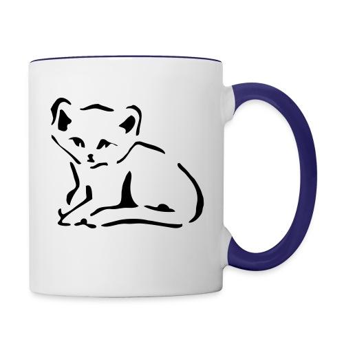 Kitty Cat - Contrast Coffee Mug