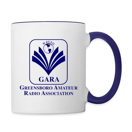 GARA Blue Transparent png - Contrast Coffee Mug