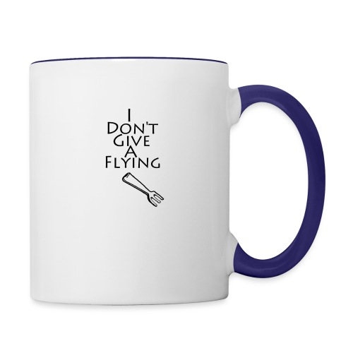 I Don't Give A Flying Fork - Contrast Coffee Mug