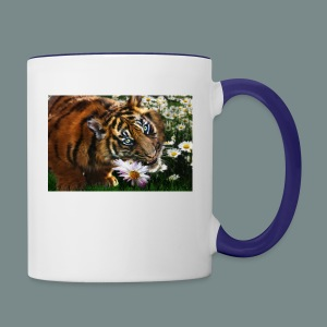 Tiger flo - Contrast Coffee Mug