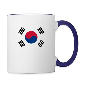 Flag of South Korea - Contrast Coffee Mug