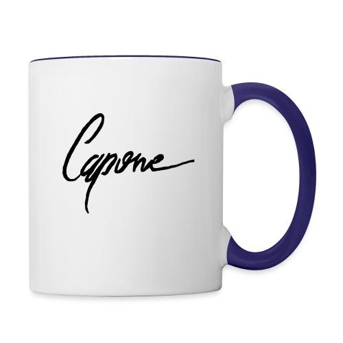 Capone - Contrast Coffee Mug