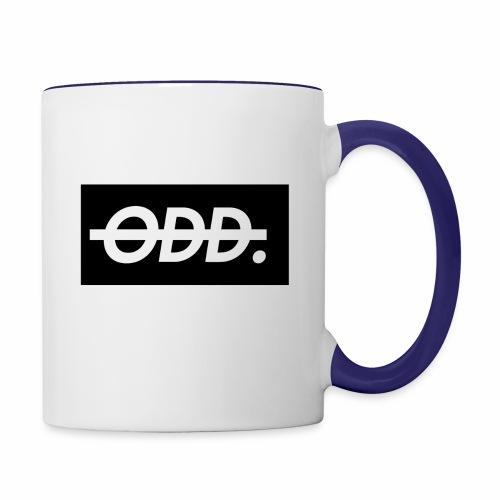 Odyssey Brand Logo - Contrast Coffee Mug