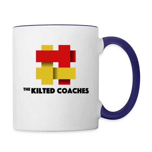 The Kilted Coaches - Contrast Coffee Mug