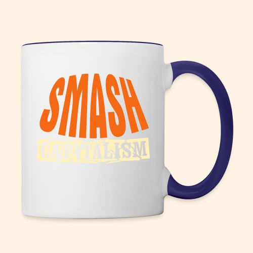 Smash Capitalism - Contrast Coffee Mug