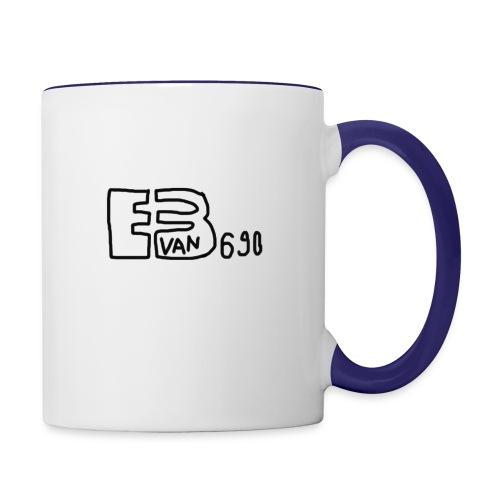 Evan3690 Logo - Contrast Coffee Mug