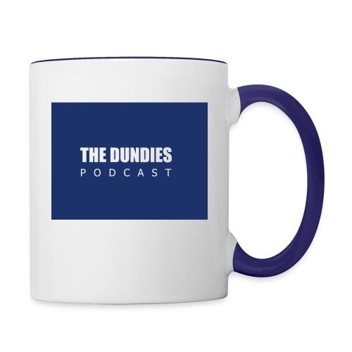 Dundies Podcast Logo - Contrast Coffee Mug